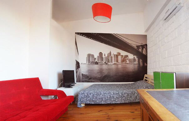 1-комнатная квартира посуточно в Одессе. Приморский район, ул. Жуковского, 30. Фото 1