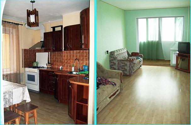 3-комнатная квартира посуточно в Южном. ул. Приморская, 19. Фото 1