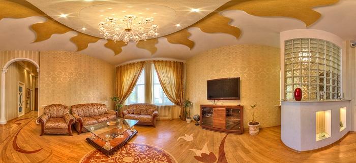 4-комнатная квартира посуточно в Харькове. Киевский район, Пушкинская ул., 19. Фото 1