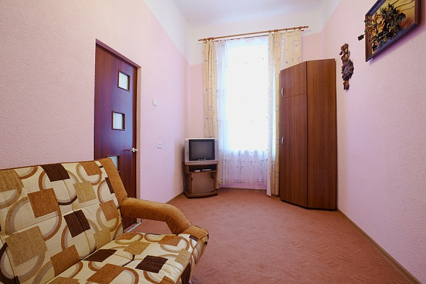1-комнатная квартира посуточно в Львове. Лычаковский район, вул. Медова, 2. Фото 1