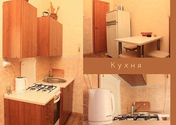 1-комнатная квартира посуточно в Львове. Галицкий район, ул. Пантелеймона Кулиша, 45. Фото 1