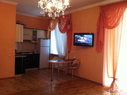 1-комнатная квартира посуточно в Днепропетровске. Бабушкинский район, ул. Магдебургского права (Гопнер), 3а. Фото 1