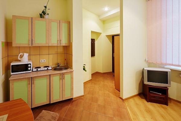 1-комнатная квартира посуточно в Львове. Галицкий район, ул. Чайковского, 17. Фото 1