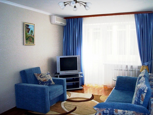 2-комнатная квартира посуточно в Партените. ул. Солнечная, 3. Фото 1