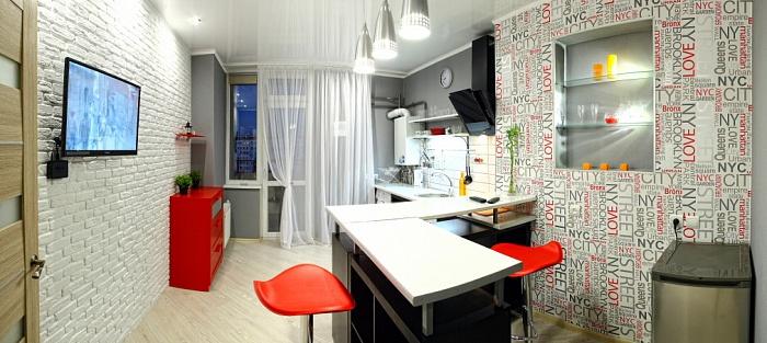 1-комнатная квартира посуточно в Севастополе. Гагаринский район, пер. Античный, 20-Б. Фото 1