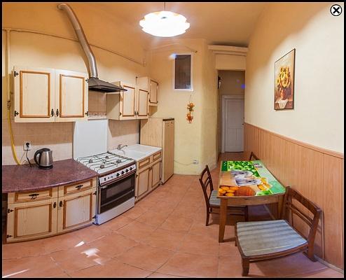 1-комнатная квартира посуточно в Львове. Шевченковский район, ул. Леонтовича, 5. Фото 1