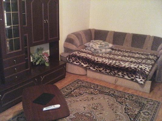 1-комнатная квартира посуточно в Донецке. Калининский район, пр-т Ильича, 27. Фото 1