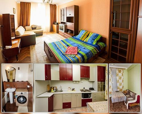 1-комнатная квартира посуточно в Сумах. Заречный район, ул. Петропавловская, 81. Фото 1