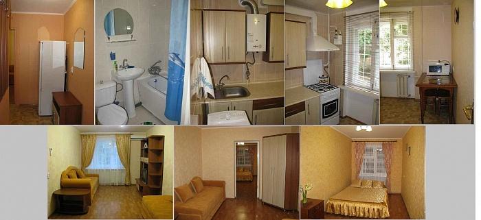 2-комнатная квартира посуточно в Партените. ул. Солнечная, 1. Фото 1