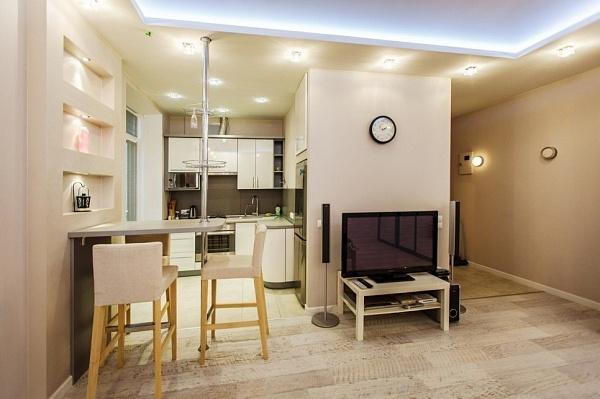 1-комнатная квартира посуточно в Львове. Галицкий район, ул. Краковская, 11. Фото 1