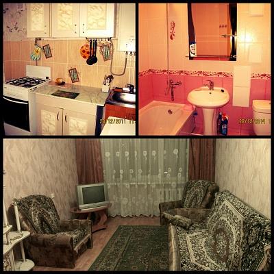 1-комнатная квартира посуточно в Симферополе. Железнодорожный район, ул. Гагарина, 26. Фото 1