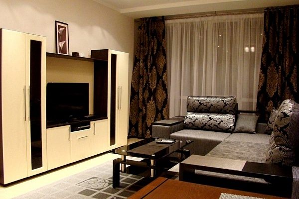 2-комнатная квартира посуточно в Киеве. Голосеевский район, ул. Красноармейская, 54. Фото 1