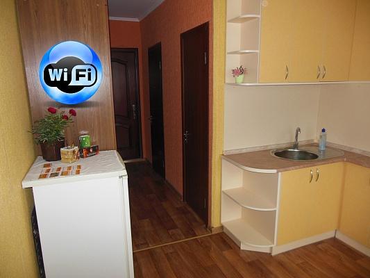 1-комнатная квартира посуточно в Чернигове. Деснянский район, ул. Космонавтов, 24. Фото 1