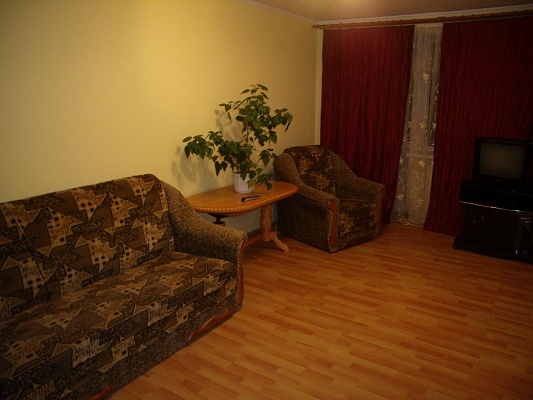 1-комнатная квартира посуточно в Виннице. Ленинский район, ул. Грушевского, 66. Фото 1