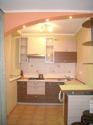 1-комнатная квартира посуточно в Кременчуге. пр-т 50-летия Октября, 3. Фото 1
