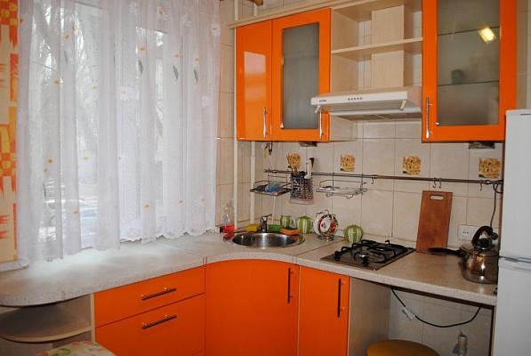 1-комнатная квартира посуточно в Феодосии. ул. Куйбышева, 2. Фото 1