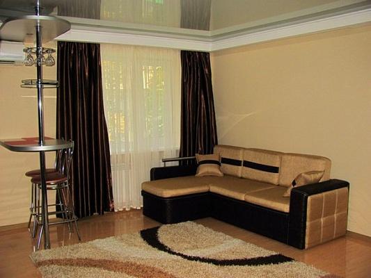 1-комнатная квартира посуточно в Луганске. Ленинский район, ул. Коцюбинского, 6. Фото 1