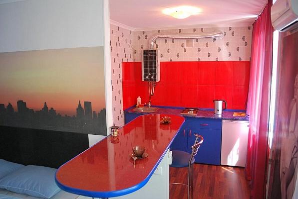 1-комнатная квартира посуточно в Кривом Роге. Саксаганский район, пр-т Гагарина, 39. Фото 1