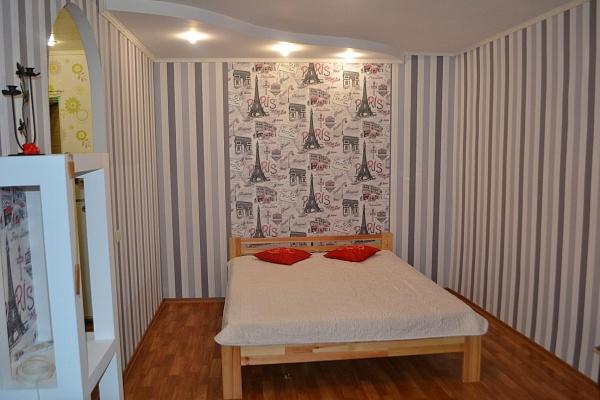 1-комнатная квартира посуточно в Запорожье. Ленинский район, ул. Днепровские Пороги, 17А. Фото 1
