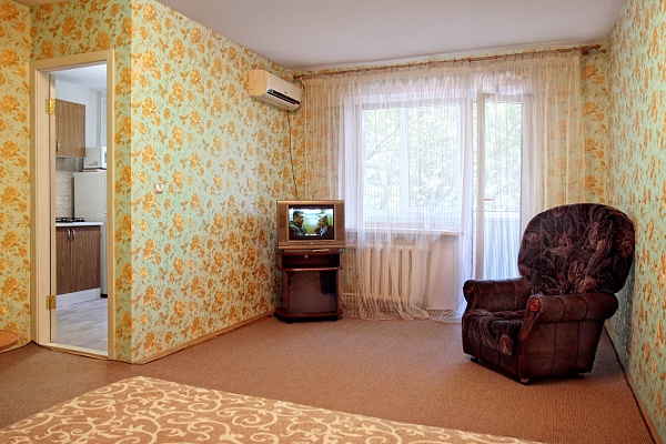 1-комнатная квартира посуточно в Запорожье. Орджоникидзевский район, ул. Патриотическая, 58. Фото 1