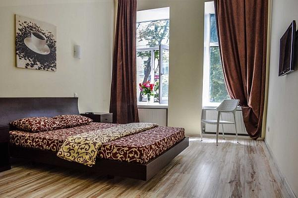 1-комнатная квартира посуточно в Одессе. ул. Дерибасовская, 16. Фото 1