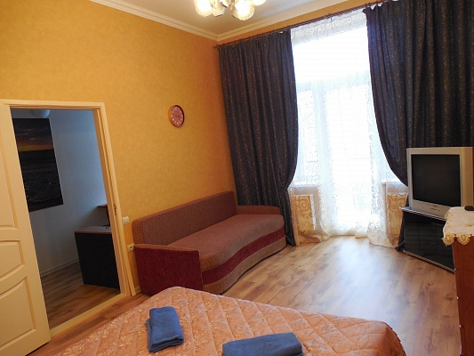 1-комнатная квартира посуточно в Львове. Галицкий район, ул. Федорова, 27. Фото 1