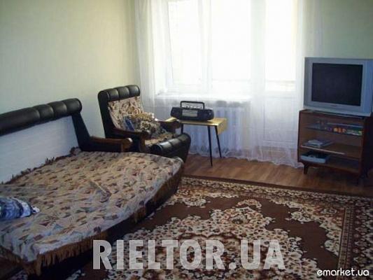 1-комнатная квартира посуточно в Николаеве. Центральный район, пр. Ленина, 12. Фото 1