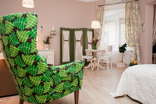 1-комнатная квартира посуточно в Львове. Галицкий район, пр-т Свободы, 41. Фото 1