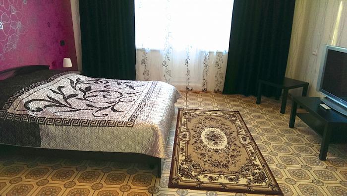 1-комнатная квартира посуточно в Мариуполе. пр-т Ленина, 67. Фото 1