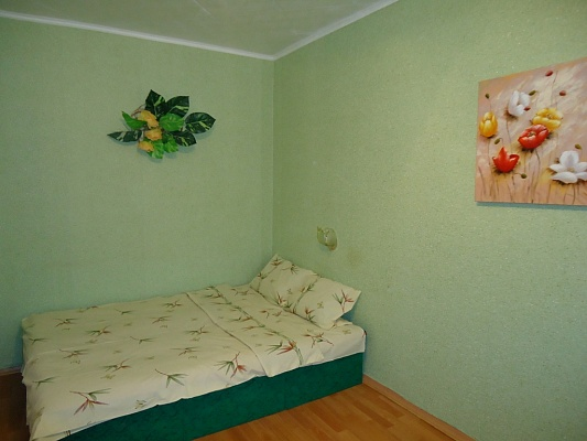 1-комнатная квартира посуточно в Николаеве. Заводской район, ул. Крылова, 13. Фото 1