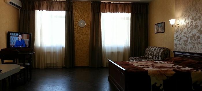 1-комнатная квартира посуточно в Одессе. Приморский район, Гагаринское плато, 5а/1. Фото 1
