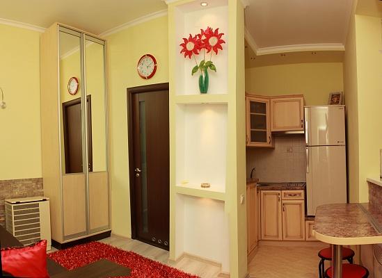 1-комнатная квартира посуточно в Львове. Франковский район, ул. Героев УПА, 38. Фото 1