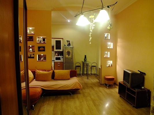 1-комнатная квартира посуточно в Львове. Галицкий район, ул. Городоцкая, 5. Фото 1