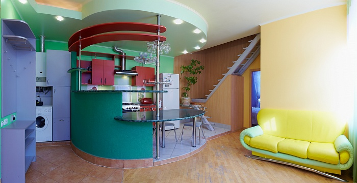 3-комнатная квартира посуточно в Львове. Галицкий район, ул. Ярослава Мудрого, 12. Фото 1