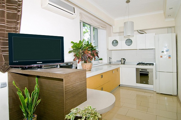 1-комнатная квартира посуточно в Одессе. Приморский район, б-р Французский , 14А. Фото 1