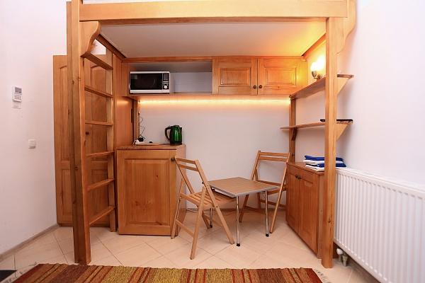1-комнатная квартира посуточно в Львове. Галицкий район, ул. Пешая, 2. Фото 1