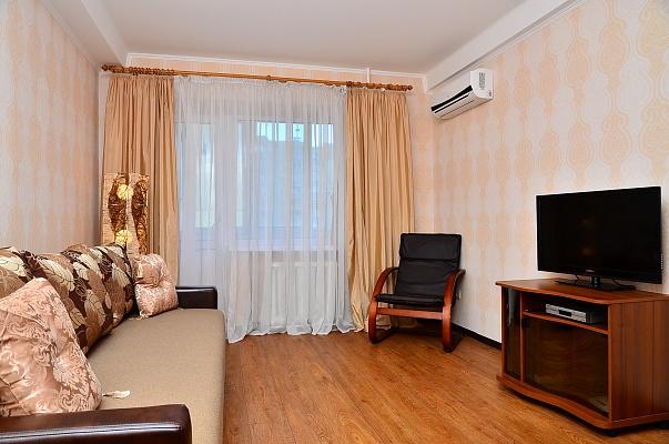 1-комнатная квартира посуточно в Киеве. Голосеевский район, ул. Красноармейская, 102. Фото 1