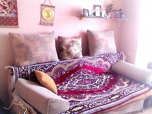 1-комнатная квартира посуточно в Феодосии. ул. Советская, 16. Фото 1