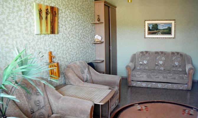 1-комнатная квартира посуточно в Севастополе. Нахимовский район, ул. Софьи Перовской, 45. Фото 1
