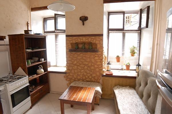 1-комнатная квартира посуточно в Одессе. Приморский район, ул. Спиридоновская, 33. Фото 1