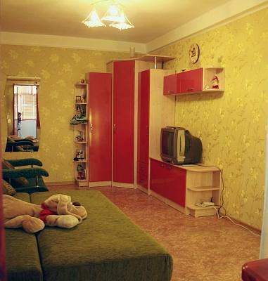 1-комнатная квартира посуточно в Севастополе. Гагаринский район, ул. Юмашева, 26. Фото 1