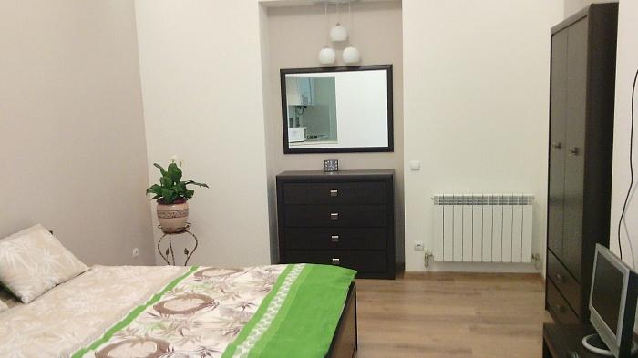1-комнатная квартира посуточно в Львове. Галицкий район, ул. Таманская, 16. Фото 1