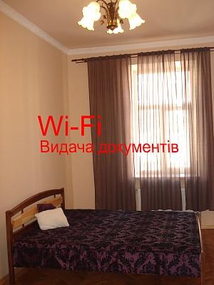 1-комнатная квартира посуточно в Львове. Галицкий район, ул. Ак. Люльки, 4. Фото 1