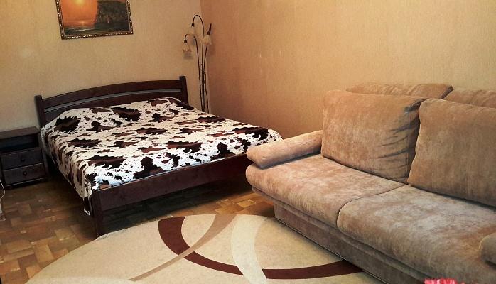 1-комнатная квартира посуточно в Севастополе. Гагаринский район, ул. Ефремова, 14. Фото 1