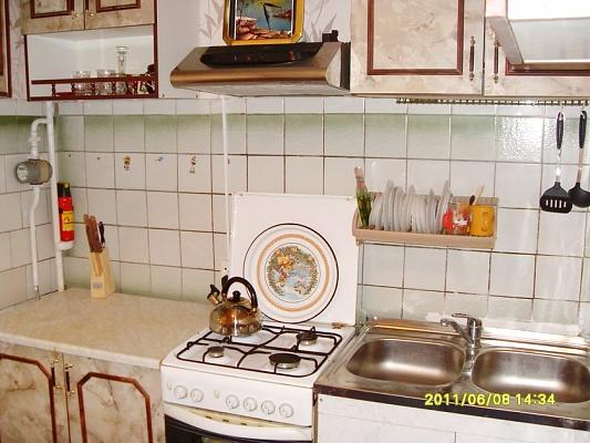1-комнатная квартира посуточно в Феодосии. ул. Крымская, 82а. Фото 1