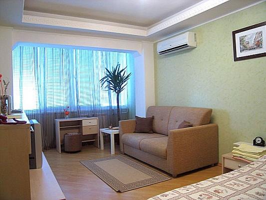 1-комнатная квартира посуточно в Киеве. Днепровский район, ул. Марины Расковой, 8. Фото 1