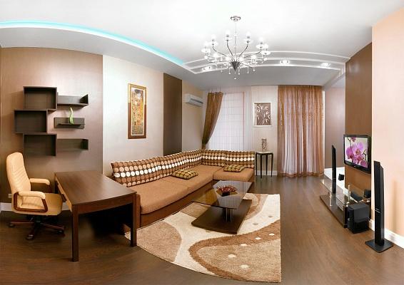 2-комнатная квартира посуточно в Донецке. Ворошиловский район, ул. Кобозева, 70. Фото 1