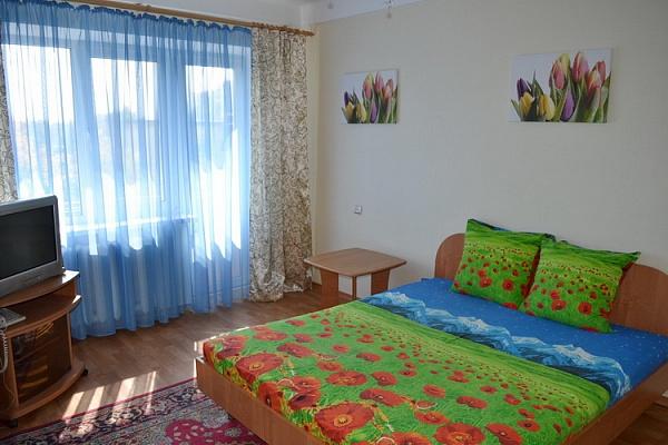 1-комнатная квартира посуточно в Киеве. Соломенский район, ул. Гарматная, 32. Фото 1
