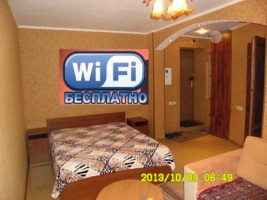1-комнатная квартира посуточно в Кременчуге. ул. Воровского. Фото 1