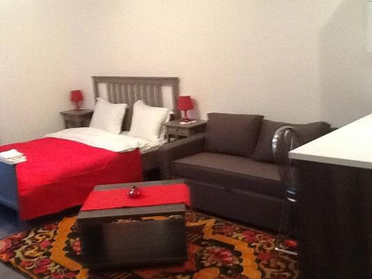 1-комнатная квартира посуточно в Львове. Галицкий район, ул. Руськая, 8. Фото 1